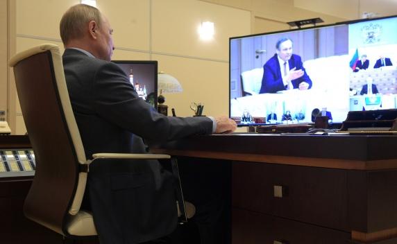 Сообщение А.Чучалина на совещании с В.Путиным по вопросу о санитарно-эпидемиологической обстановке в РФ